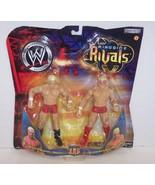 """2002 Jakk's WWE Rigside Rivals """"Billy"""" & """"Chuck"""" Action Figure Set WWF [... - $29.69"""