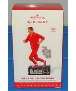The Six Million Dollar Man 2015 Hallmark Ornament Steve Austin Bionic TV... - $34.90