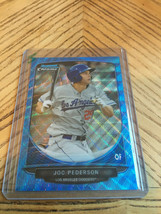 2013 Bowman Chrome Joc Pederson Blue Wave Refractor - $4.95
