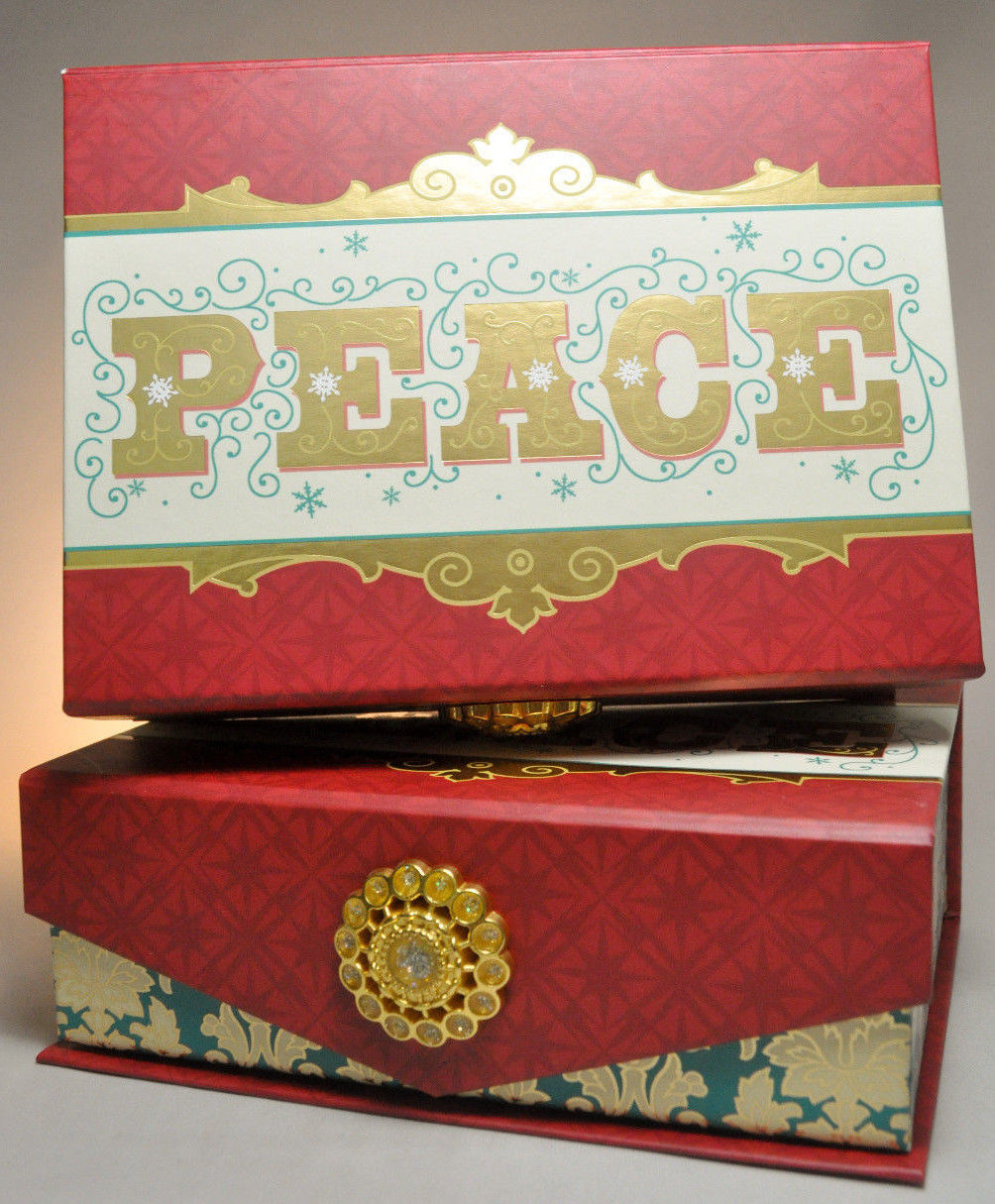 Hallmark: Boxed Christmas Cards - PEACE - and 50 similar items