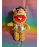 Disney Posh Paws International The Muppets Fozzie Bear Mini Plush Toy - $7.87