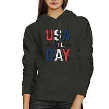 USA All Day Unique Design Graphic Hoodie For Independence Day - $25.99+