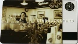 Starbucks Barista 2006 $0 Value Gift Card Vintage Old Logo New - $9.95