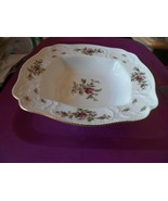 Rosenthal San Souci Rose  11 inch square bowl 1 available - $97.66