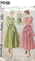 VTG Sewing Pattern Simplicity #2898 Size 11 Bust 29 Party Dress New Look... - $21.79