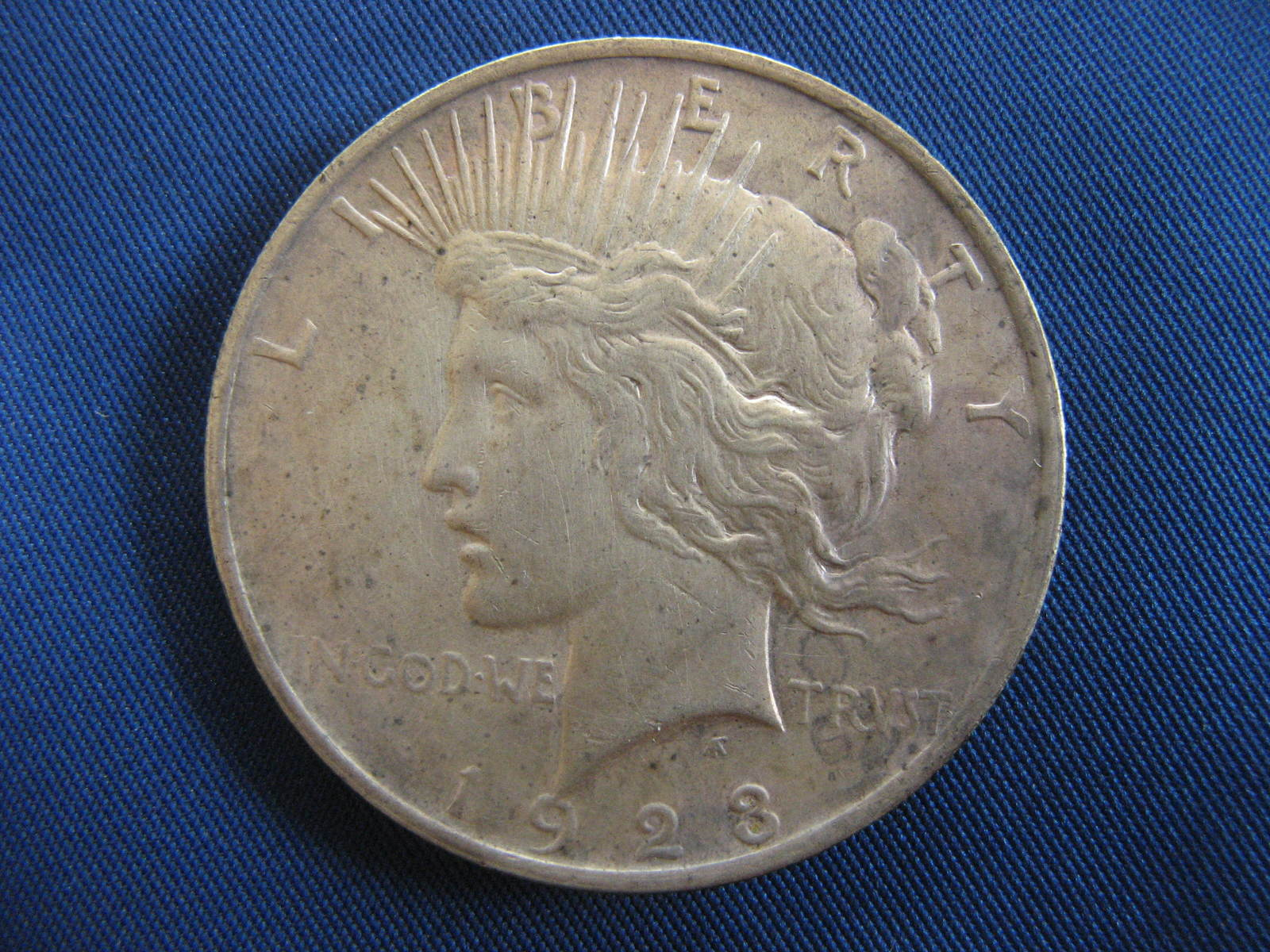 Primary image for 1923 Peace Silver Dollar - 90% Silver - (sku#4863)