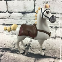 "Disney Tangled Repunzel Maximus Horse Figure 4.5"" PVC Detailed By Jakks Pacific - $9.89"