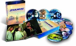 Star Wars: Complete Saga [9 Blu-Ray Disc Box Set] image 2