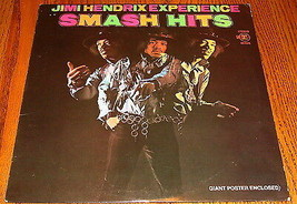 JIMI HENDRIX EXPERIENCE SMASH HITS ORIGINAL FIRST PRESS LP WITH GIANT PO... - $272.25