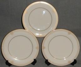 Set (3) Noritake Fine China Satin Gown Pattern Dinner Plates Made In Japan - $79.19