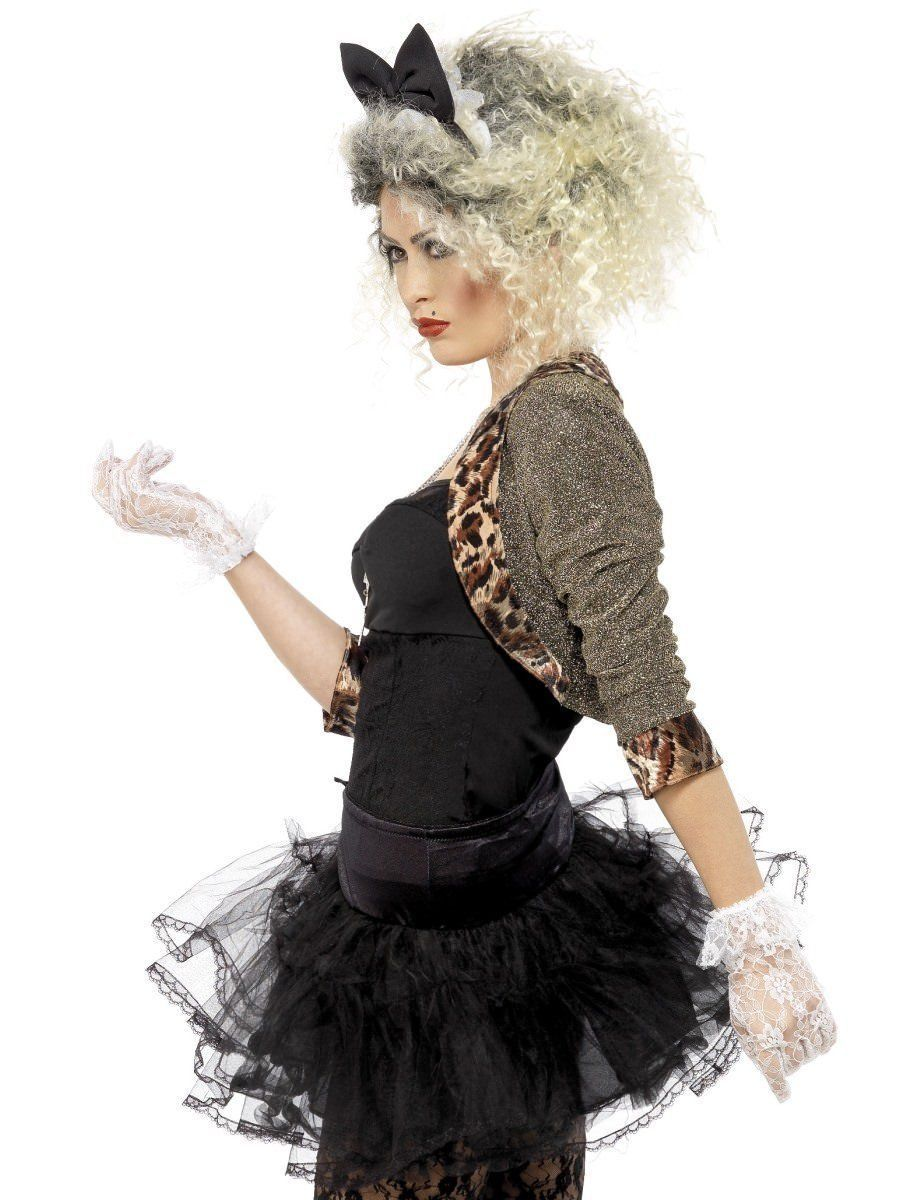 Smiffys Madonna 80s Wild Child Singer Pop Music Womens Halloween Costume 36233