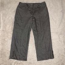 Ann Taylor Womens Gray Dress Pants Size 8  - $29.69