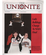 the Unionite Magazine Summer 1993 Union University Jackson, TN Lady Bull... - $1.75