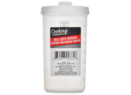 Cooking Concepts Plastic Mix and Serve Containers 16 oz Cup With Lid Dis... - $8.90