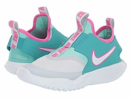 Nike Future Flex Runner GS Kid's Youth Aqua Pink Every Day Shoes BV0808 001 - $29.99