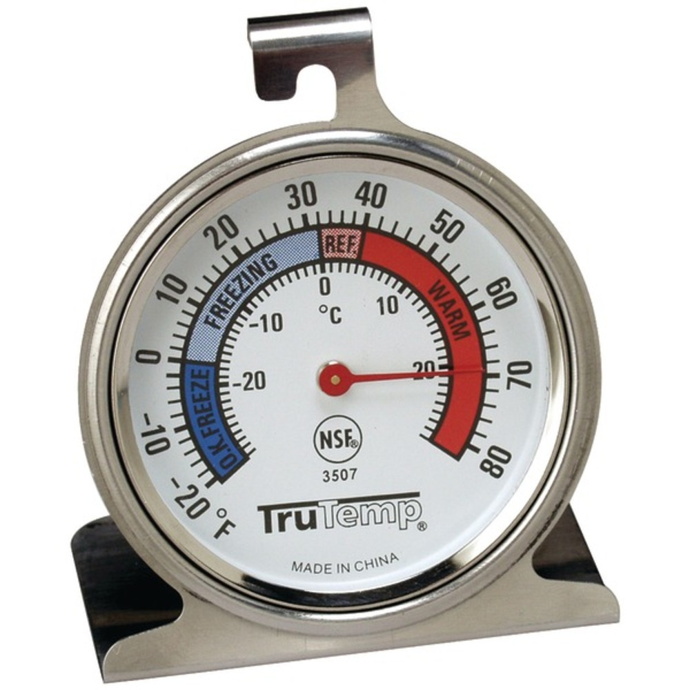 Taylor Precision Products 3507 Freezer-Refrigerator Thermometer