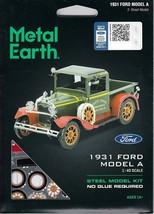 Fascinations Metal Earth 1931 Ford Model A Laser Cut 3D Model A MMS197 - $11.76