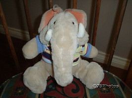 Ganz 8 Inch Wrinkles Trunkit Elephant Plush 1985 New with Tags - $57.83