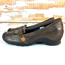 MERRELL Eden MOC Wedge Slip On Mary Janes Womens 7 M OrthoLite Dress Sho... - $16.92