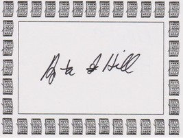 Anita Hill Signed Autographed Book Plate - $19.99