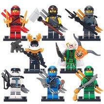 8pcs Ninjago Kai Lloyd Zane Harumi Lego Toys Son Of Garmadon Minifigure - $16.99