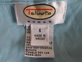 Nice sky blue women's long sleeve shirt Size XL by Talbots  MMARS222 - $9.22