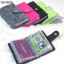1Pcs Popular Women Fancy Pouch ID Credit Card Wallet Holder Organizer Ca... - $13.98 CAD