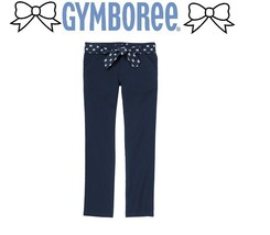 Gymboree Girls Ribbon Belt Twill Pants to choose  6 10 - $19.79+