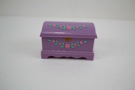 FISHER PRICE Loving Family Dollhouse Purple Hope Chest Toy Chest - $3.95