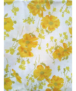 FaB 1970's Floral Cotton Twin Sheet Set + 2 Pillowcases Avocado & Harves... - $20.00