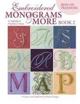 Embroidered Monograms & More Book 2  (Leisure Arts #4366) [Paperback] Banar - $5.99