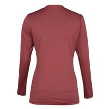Tuffrider Ladies Taylor Tee Long Sleeve T-Shirt Wine Extra Small image 2