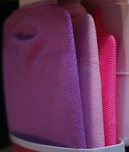 Nip Circo Fuß Low Cut Liner Sz 5 1/2 - 8 1/2 3 Paar Rosa Lila Leuchtend ... - $8.33