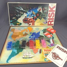 Vintage Risk Board Game 1975 Parker Brothers World Conquest Complete - $17.37