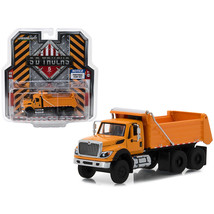2018 International WorkStar Construction Dump Truck Orange S.D. Trucks S... - $29.91