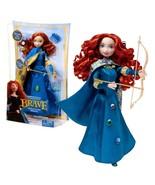Year 2011 Disney Movie Series BRAVE 10.5 Inch Doll Set - Gem Styling MERIDA - $44.99