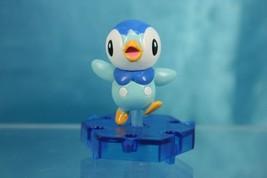 Nintendo Pokemon DP Gashapon Super Encyclopedia Mini Figure P1 Piplup Po... - $15.99