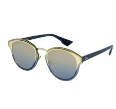 NEW Christian Dior Nightfall LKS/X5 Gold Blue/Champagne Sunglasses - $256.83