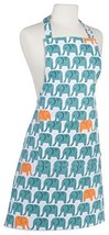 Now Designs Basic Cotton Kitchen Chef's Apron, Edgar Elephant - $19.18