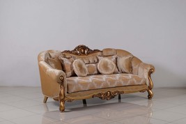 Golden Knights Victorian Luxury Sofa - $3,699.49