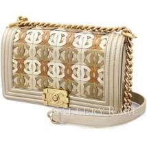 CHANEL Chain Shoulder Bag Boy Chanel Calf Dubai Limited Italy Authentic ... - $4,141.72