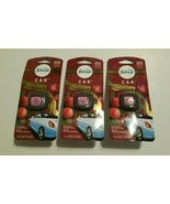 3 Febreze Car Vent Clip Limited Edition Fresh-Twist Cranberry Fragrance Lot - $19.59