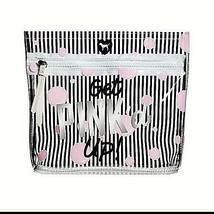 Pink Victoria's Secret Get Pink'd Up Cosmetic Bag - $14.26