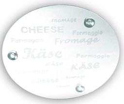"Glass Cheese Tray 12.5"" - £17.15 GBP"