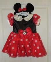 Neuf Disney Petite Fille Minnie Mouse Déguisement Size 6-9 & 12-18 Mois - $16.96