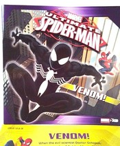 Spider-Man Venom Marvel Kids Comic Picture Book Animated Series 2013 - $9.88