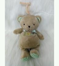 "13"" Carters Bear Tan ABC Song  I Love You Musical Baby Plush Crib Toy  B205 - $11.99"