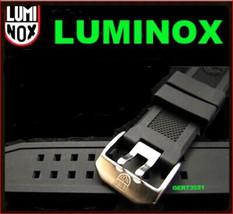 Luminox 23mm FP.L.ES Watch Rubber Band Navy Seal 3050/3950/8800 silver b... - $16.99
