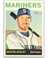 2013 Topps Heritage #166 Dustin Ackley NM-MT Mariners - $1.00