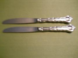 Gorham Stainless Rondelle set of 2 dinner knives knife Free Shipping - $14.80